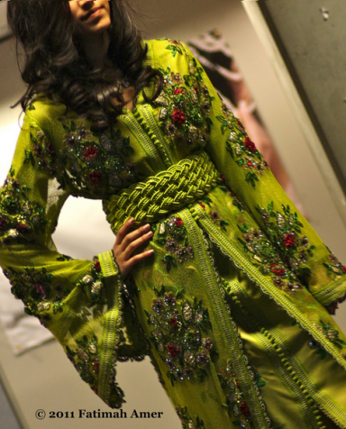 Eye-catching Moroccan Kaftans by Mirriam Kaissi