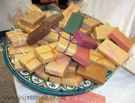 Moroccan soaps on sale from YaNa KISS