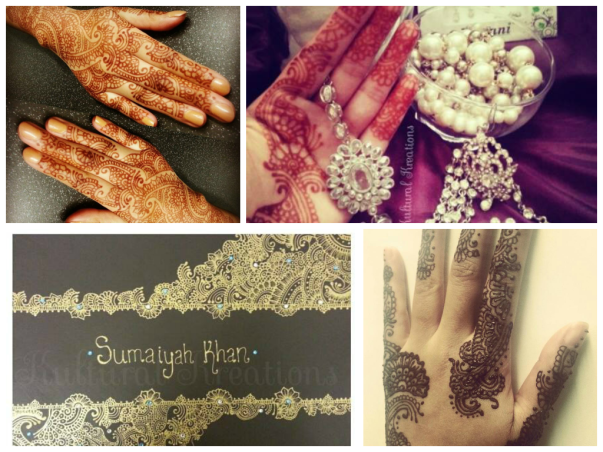 Kultural Kreations have kindly volunteered to do henna for all you lovely guests! https://www.facebook.com/KulturalKreations.1