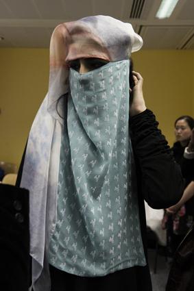 Stunning niqaab designs by Nasreen