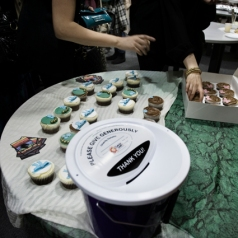 Cupcake sales go straight to charity, so indulge- guilt-free!