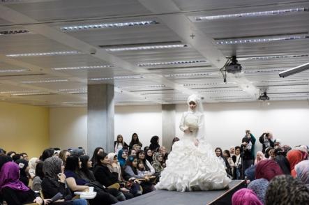 Nabiila Bee modelling Sazamo Bridal!