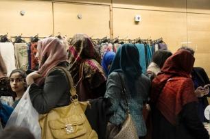 Hijabs galore!