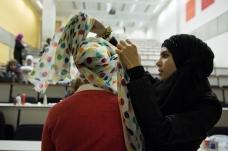 Hijab styling class by Aalia A aka Princess Rockz