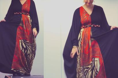 Funky abaya by Afa Bee