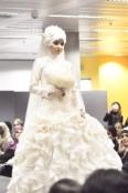 Nabiila Bee modelling Sazamo Bridal